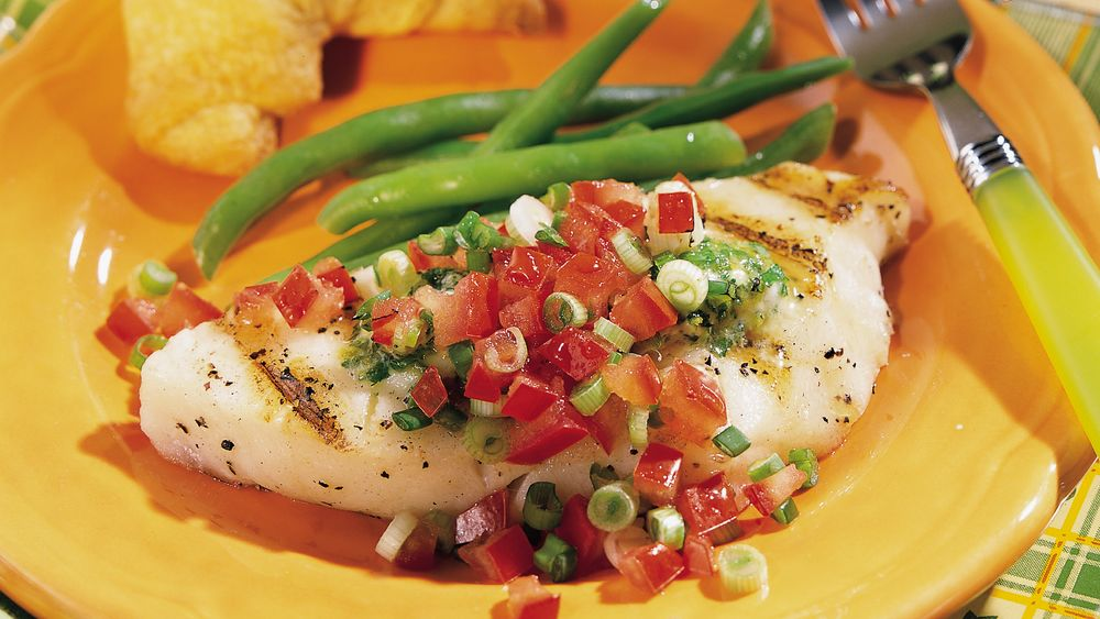 Grilled Chilean Bass