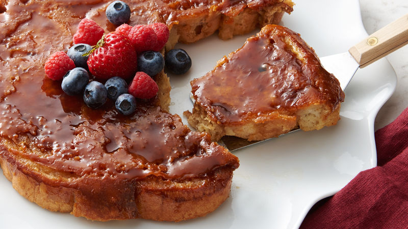 Caramel Upside Down French Toast