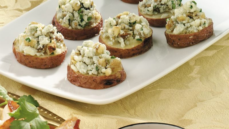 Nutty Gorgonzola-Roasted Potato Slices