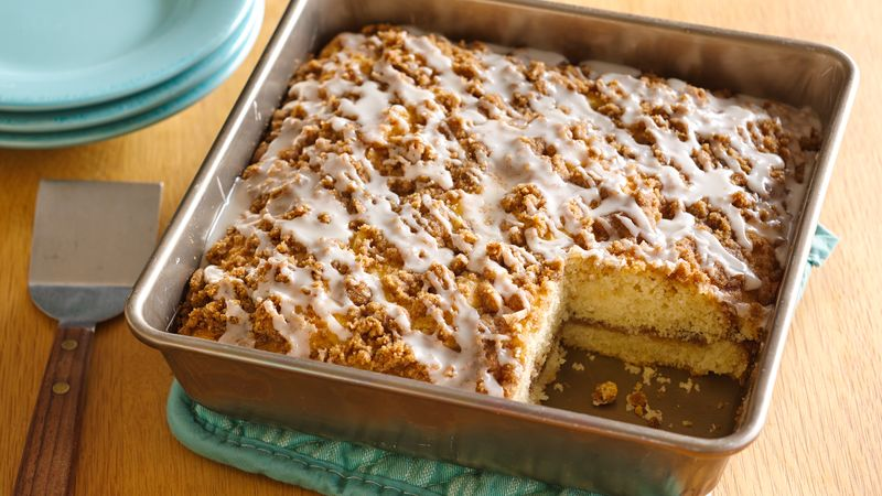 GlutenFree Cinnamon Streusel Coffee Cake Recipe BettyCrockercom