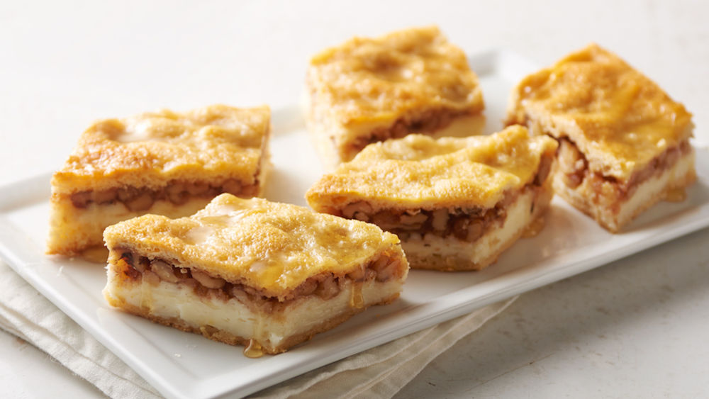 Baklava Cheesecake Bars recipe from Pillsbury.com
