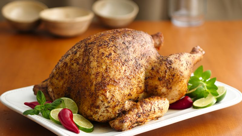 Oven Roasted Spice Rubbed Turkey Recipe Pillsbury Com