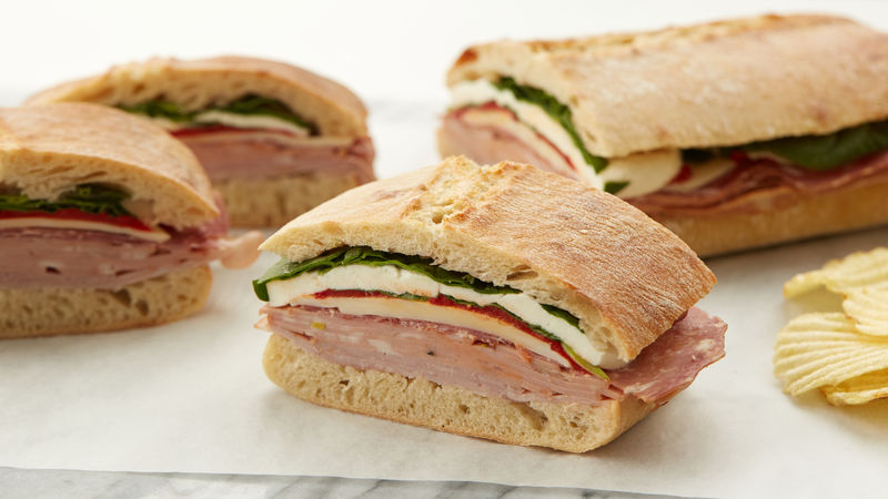 Make-Ahead Italian Pressed Sandwich