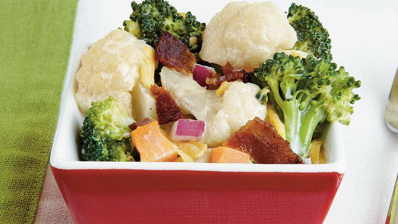 Tangy-Sweet Broccoli Salad