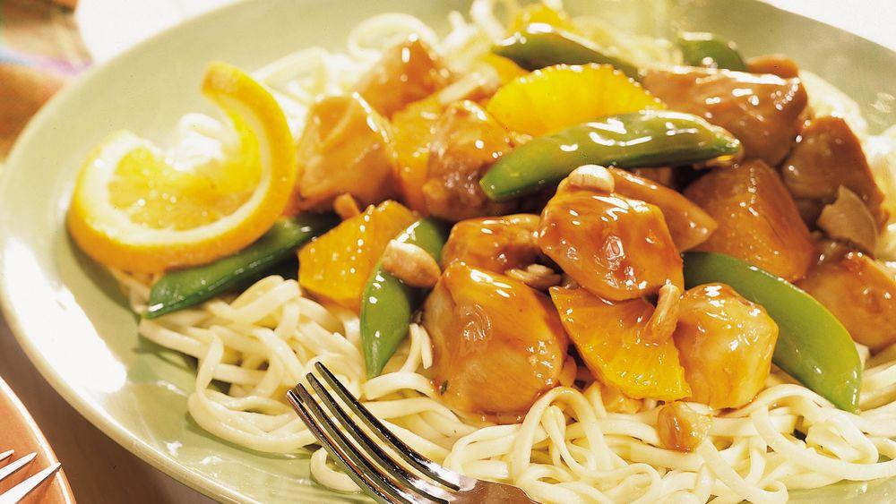 Teriyaki Chicken and Pasta