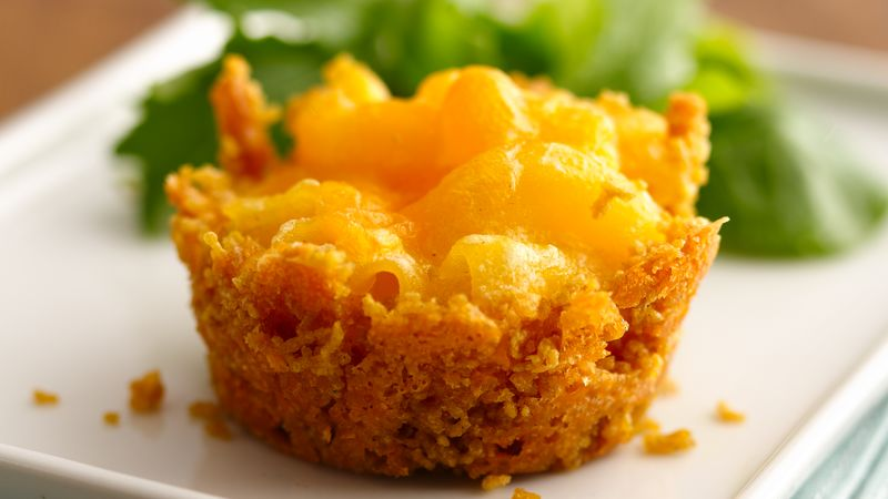 Gluten-Free Mini Mac and Cheese Cakes