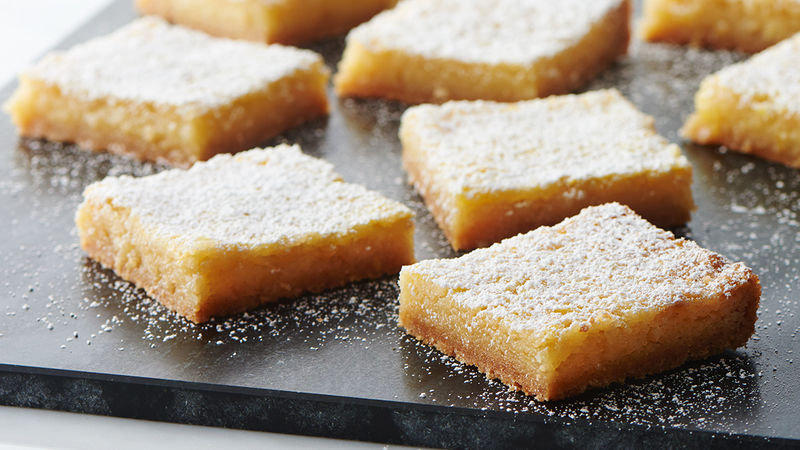 Lemon Bars with Browned Butter Sugar Cookie Crust
