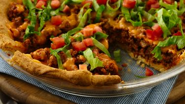 Easy Crescent Taco Bake