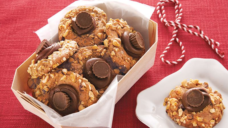 Chocolate Peanut Butter Thumbprints