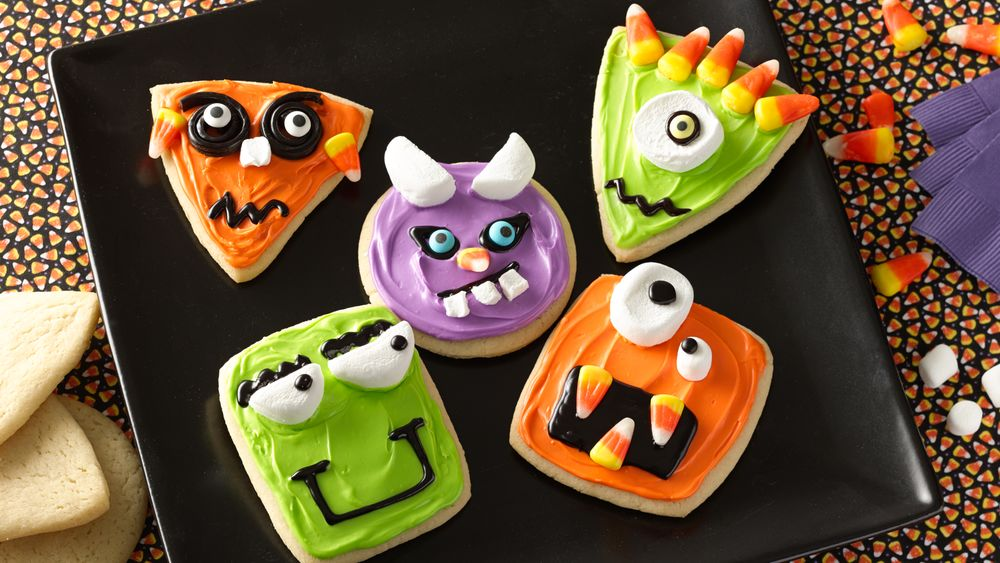 Wacky Monster Cookies Recipe From Pillsbury Com