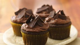 Aztec Chile-Chocolate Cupcakes