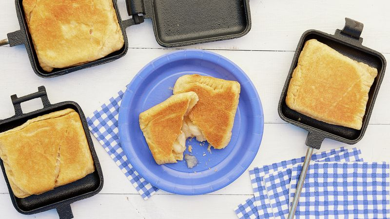 Campfire Crescent Apple Pies