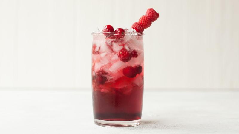 Cran-Raspberry Beret
