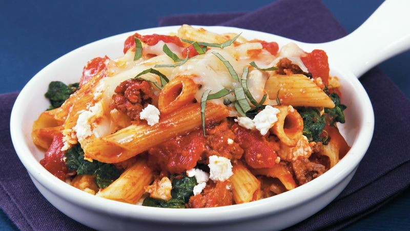 Slow-Cooker Greek Penne