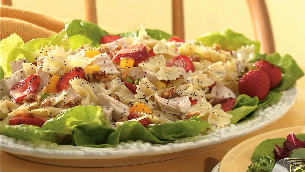 Strawberry-Turkey Salad