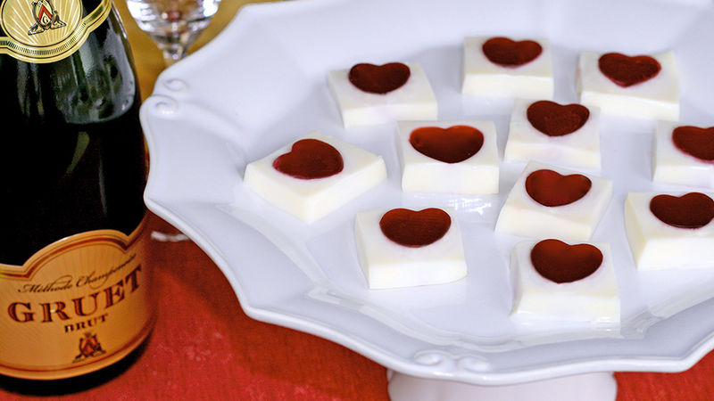 Heart Box Boozy Jello Shots