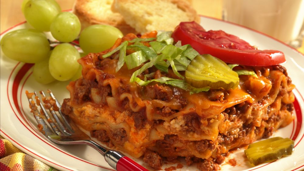 Make-Ahead Cheeseburger Lasagna