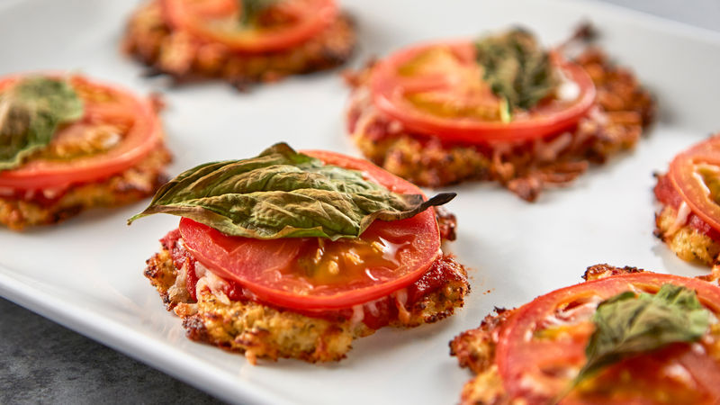Mini Cauliflower-Crust Pizzas
