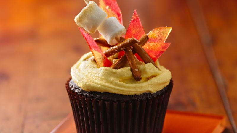 Campfire Smores Cupcakes Recipe
