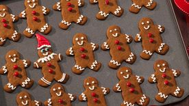 Elf and Friends Gingerbread Cookies