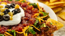 Easy Layered Bean Dip
