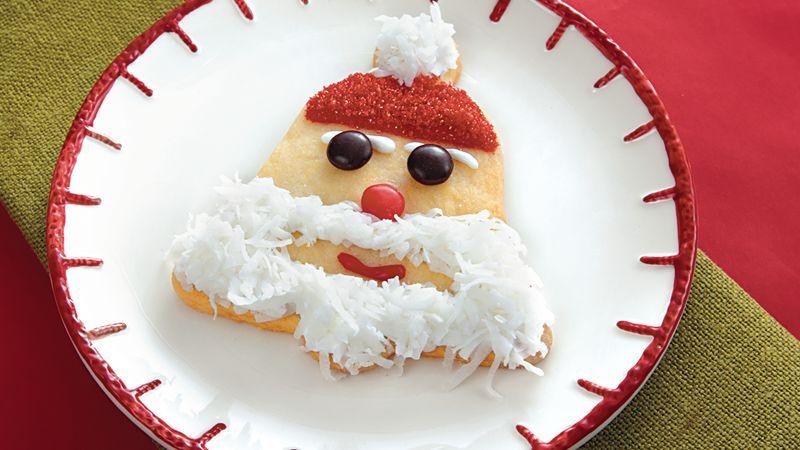 Santa Bell Cookies