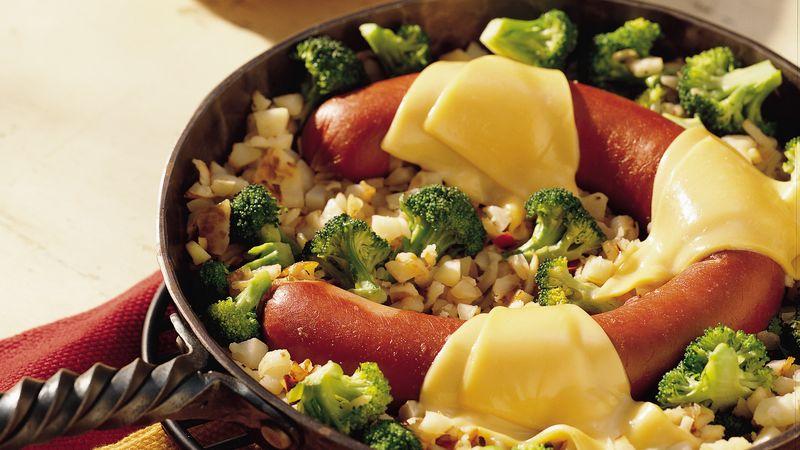 Sausage Skillet Supper Recipe Bettycrocker Com