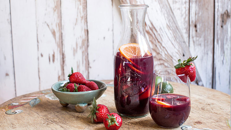 Mexican-Style Strawberry Orange Sangria