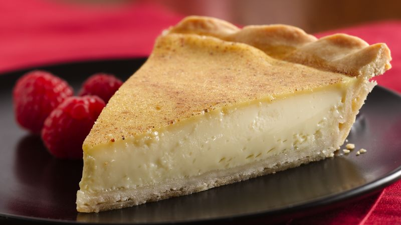 Custard Pie Recipe Bettycrocker Com