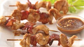 Chicken Peanut Kabobs