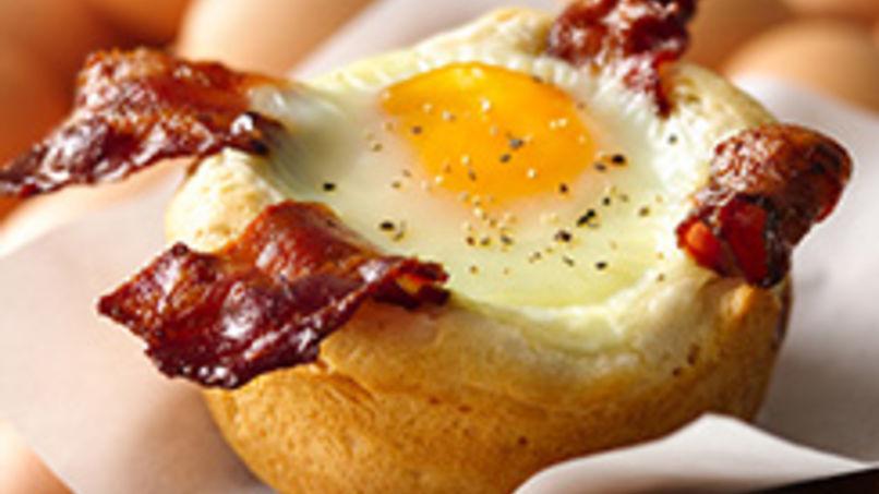 Bizcochos de Huevos con Tocino