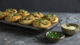 Chicken Stew Biscuit Cups