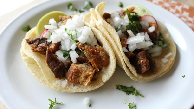 Chicharrón Tacos