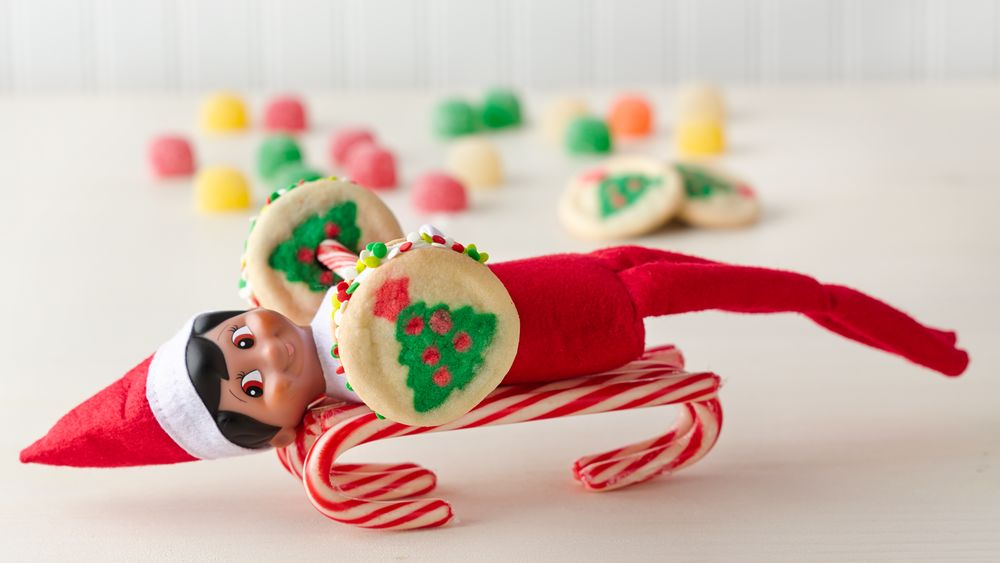 Elf on the Shelf Cookie Weights recipe from Pillsbury.com