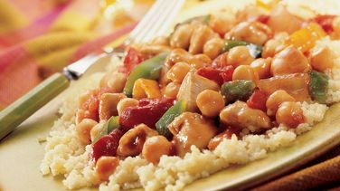 Spicy Chicken and Couscous