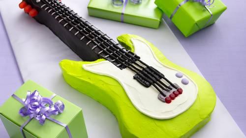 Electric Guitar Cake Recipe - BettyCrocker.com