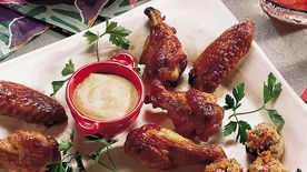 Mahogany Chicken Wings