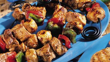 Asian Barbecued Pork Kabobs