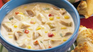 Creamy Chicken-Vegetable Chowder
