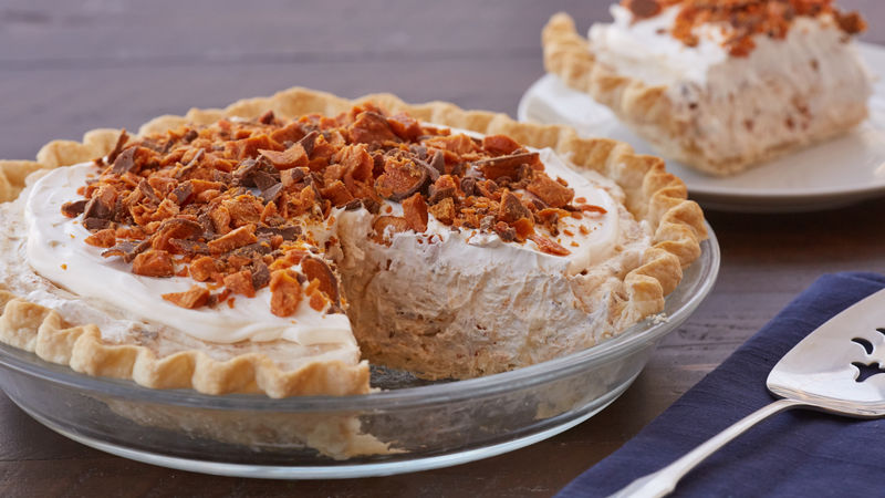 Easy Butterfinger™ Pie