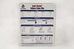 Gold Medal Cake Mix Yellow 5 Lb General Mills