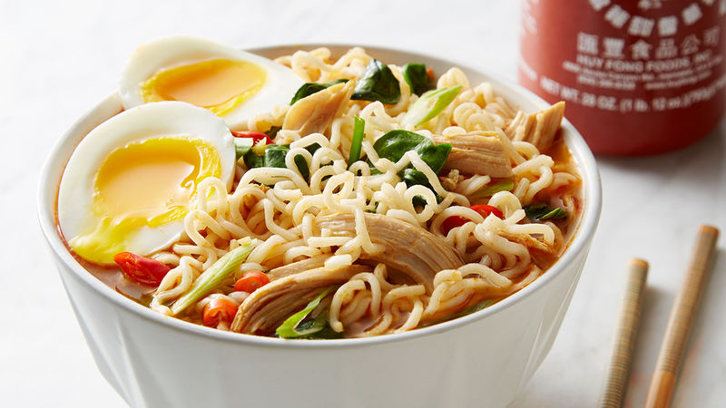 Easy spicy chicken ramen noodle soup recipe tablespoon easy spicy chicken ramen noodle soup forumfinder Images