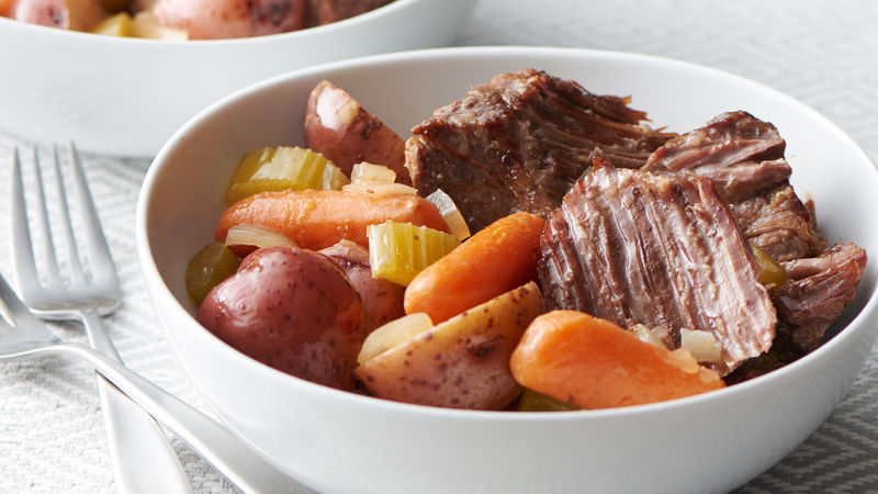 Classic Pot Roast (Cooking for 2)