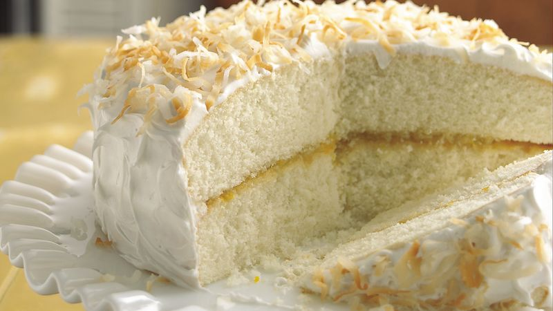 Ambrosia Cake Recipe Bettycrocker Com