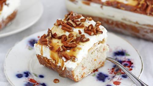 Texas Pecan Apricot Cake Recipe