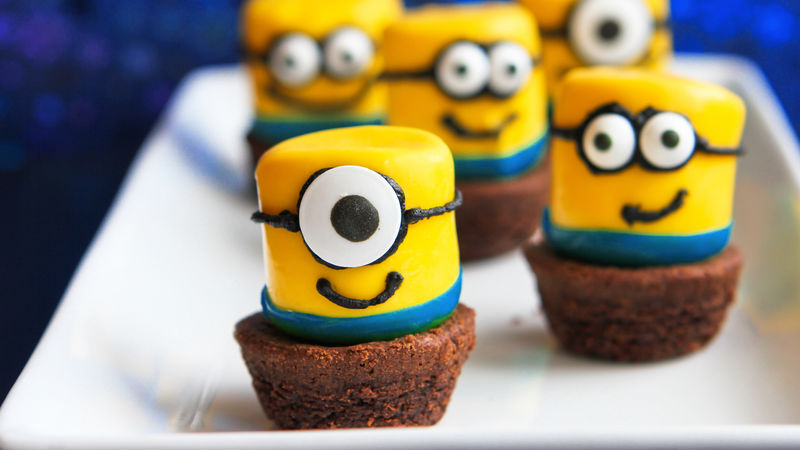 Minion Marshmallow Pops Recipe Bettycrocker