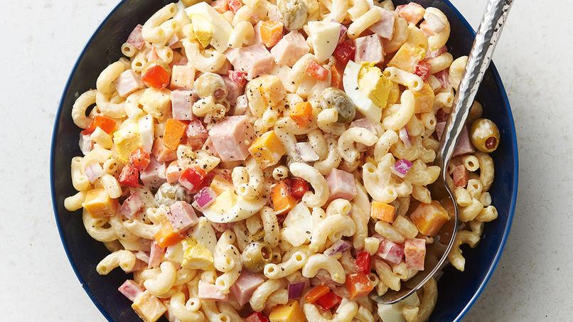 Puerto Rican Macaroni Salad