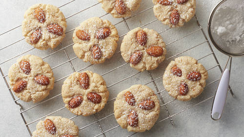 German Almond Cookies