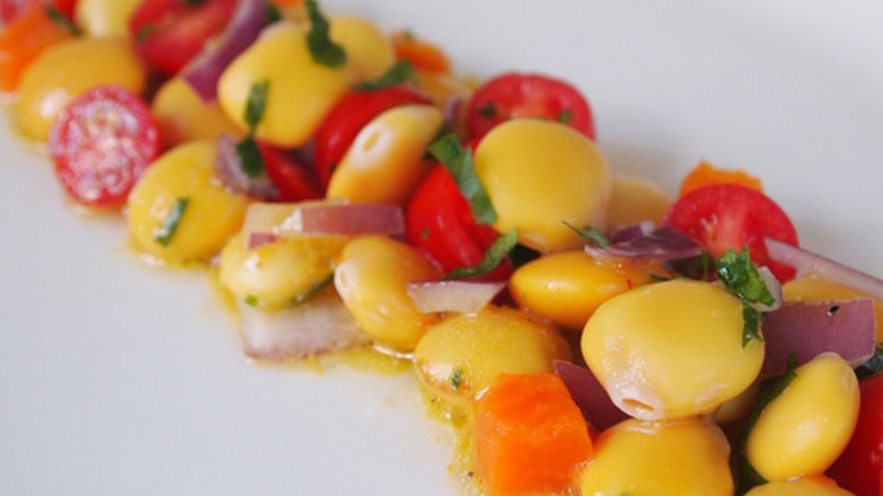 Lupini Beans Ceviche