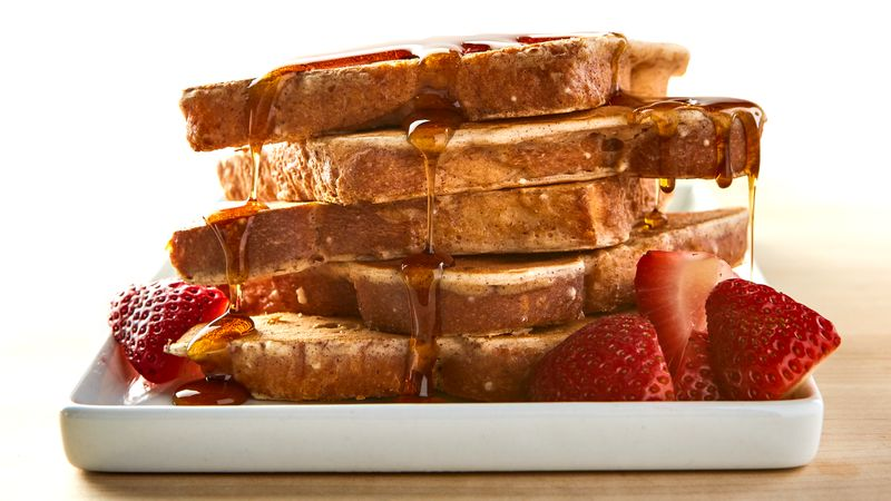Cinnamon Batter Dipped French Toast